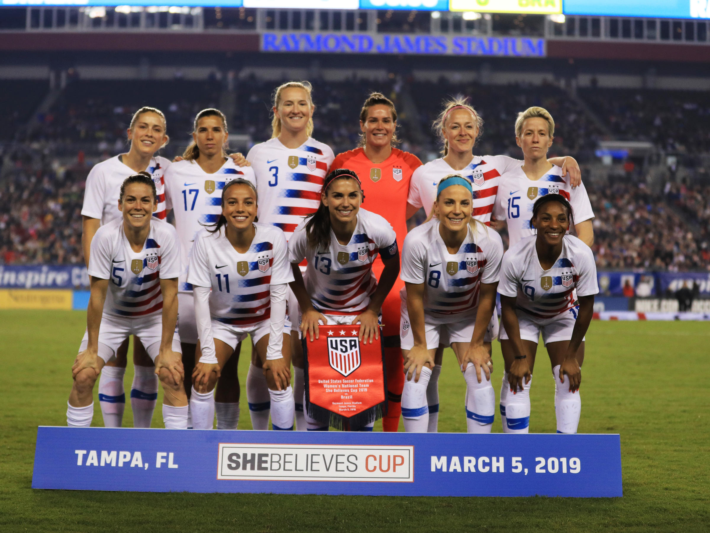 30430754ad6 The members of the U.S. women s national soccer team filed a lawsuit Friday  against U.S. Soccer