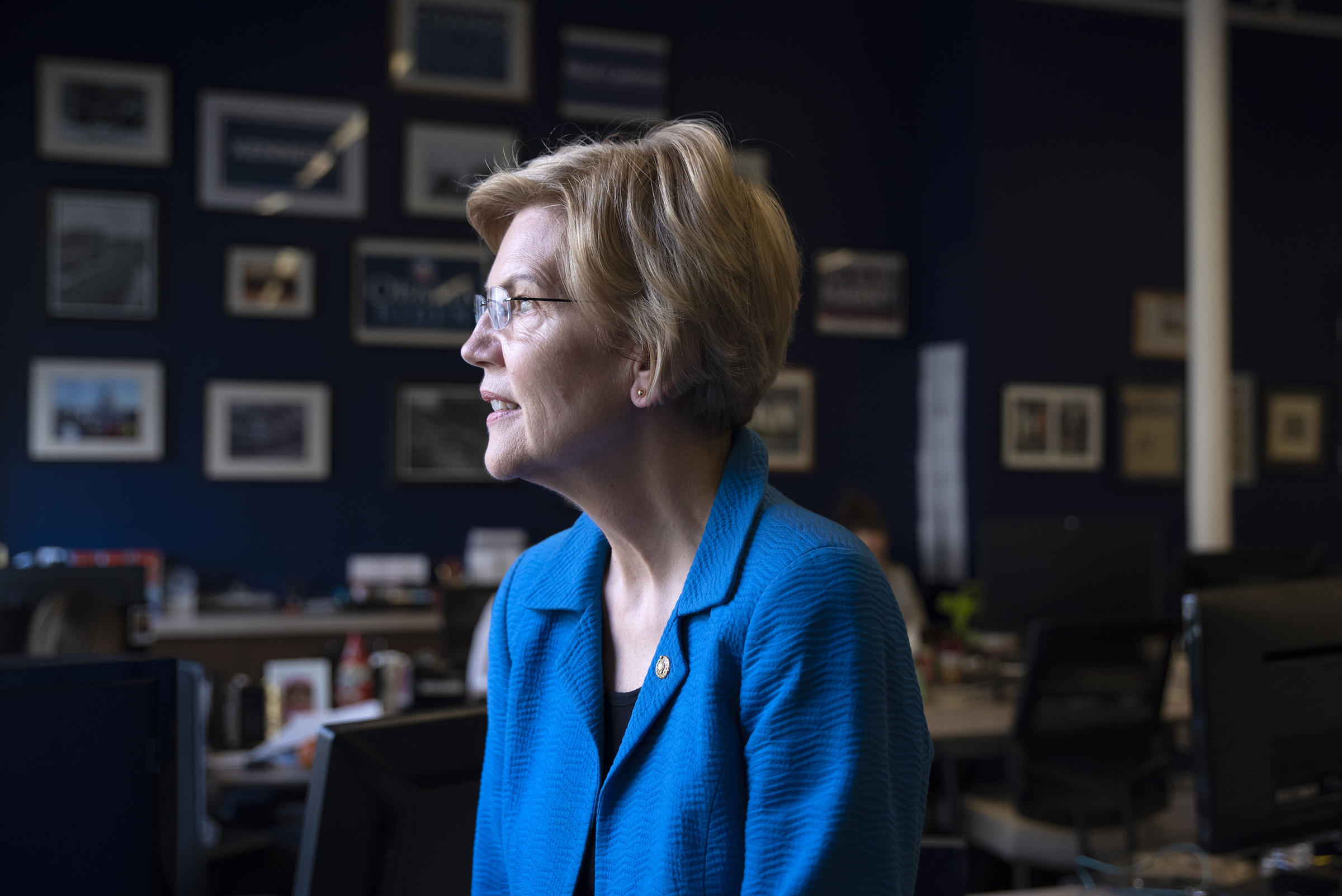 Sen. Elizabeth Warren Blasts Big Tech, Advocates Taxing Rich in 2020 Race