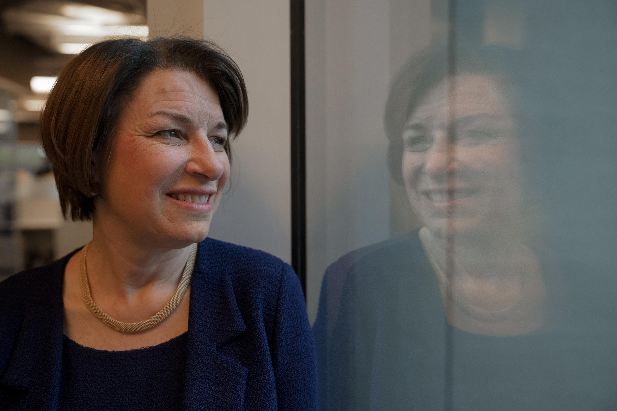 Amy Klobuchar Runs On A Record Of Accomplishments — Including With Republicans