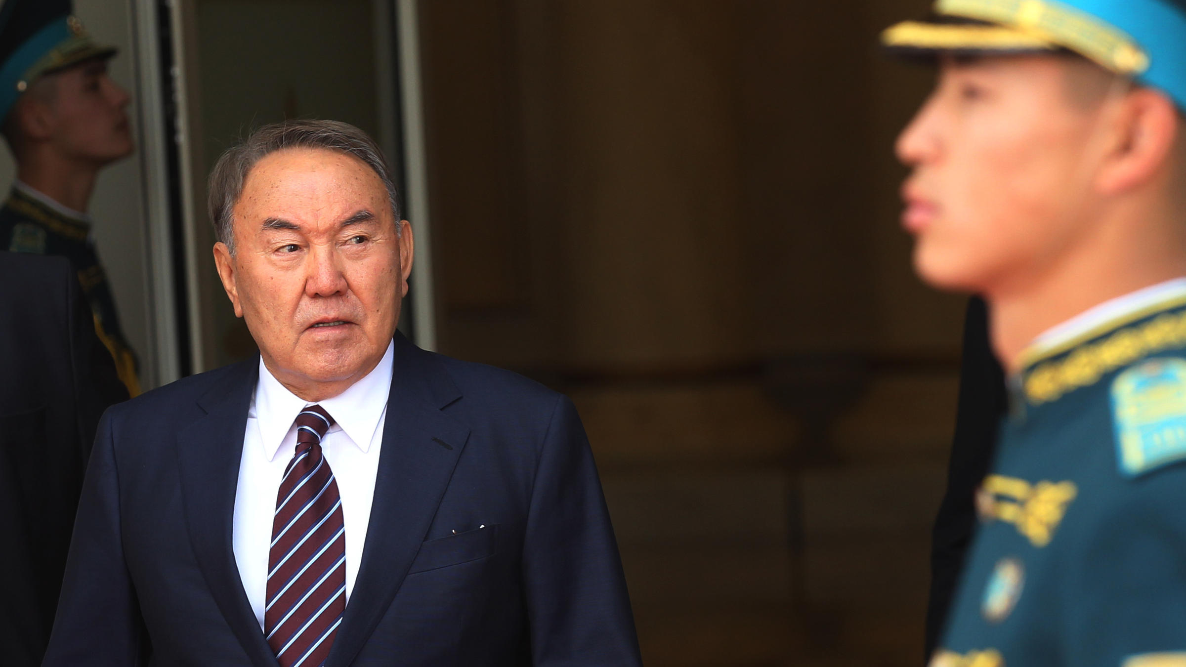 Nazarbaev Resigns As Kazakhstan's President; Was First Elected In 1991