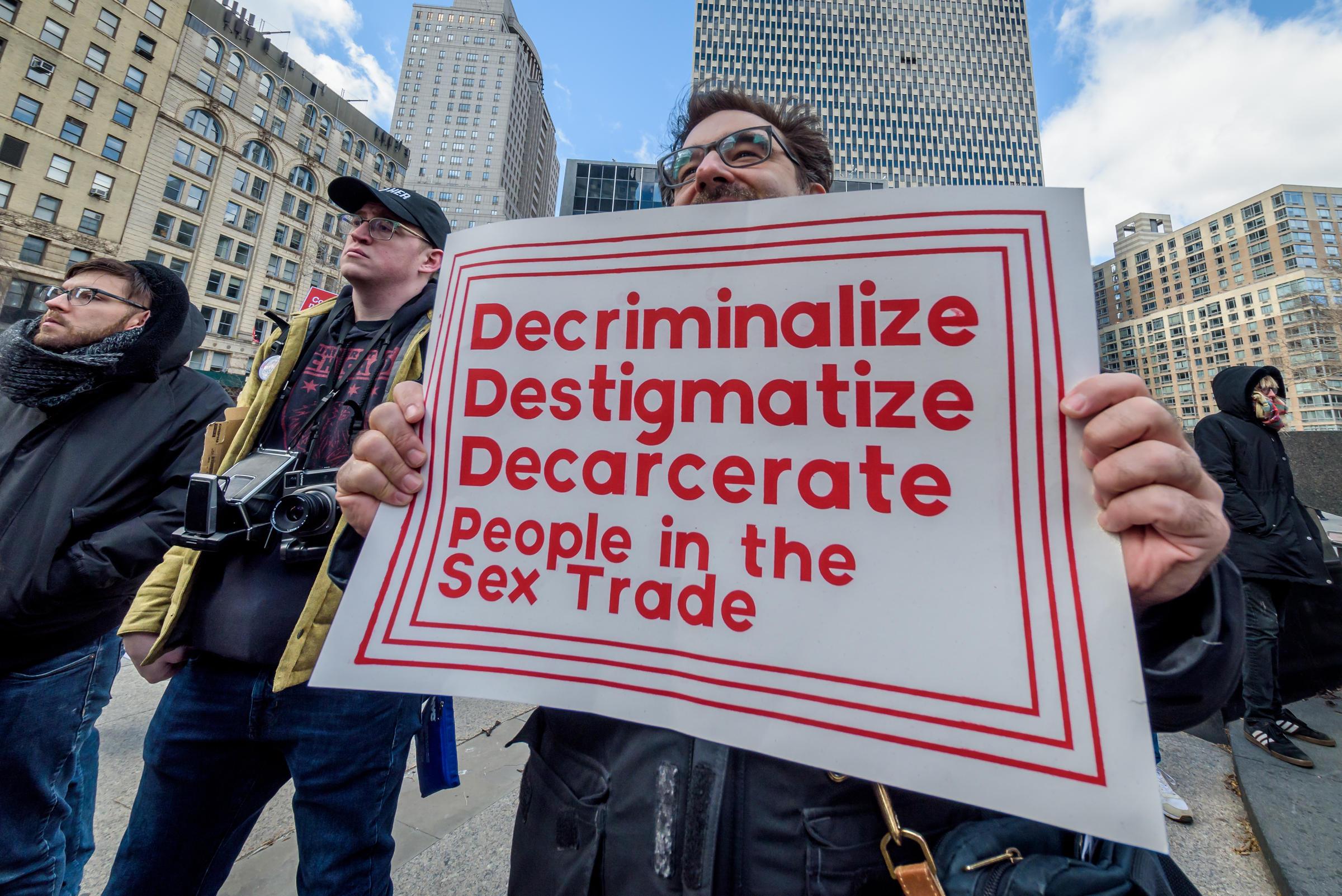 Should Sex Work Be Decriminalized? Some Activists Say It's Time