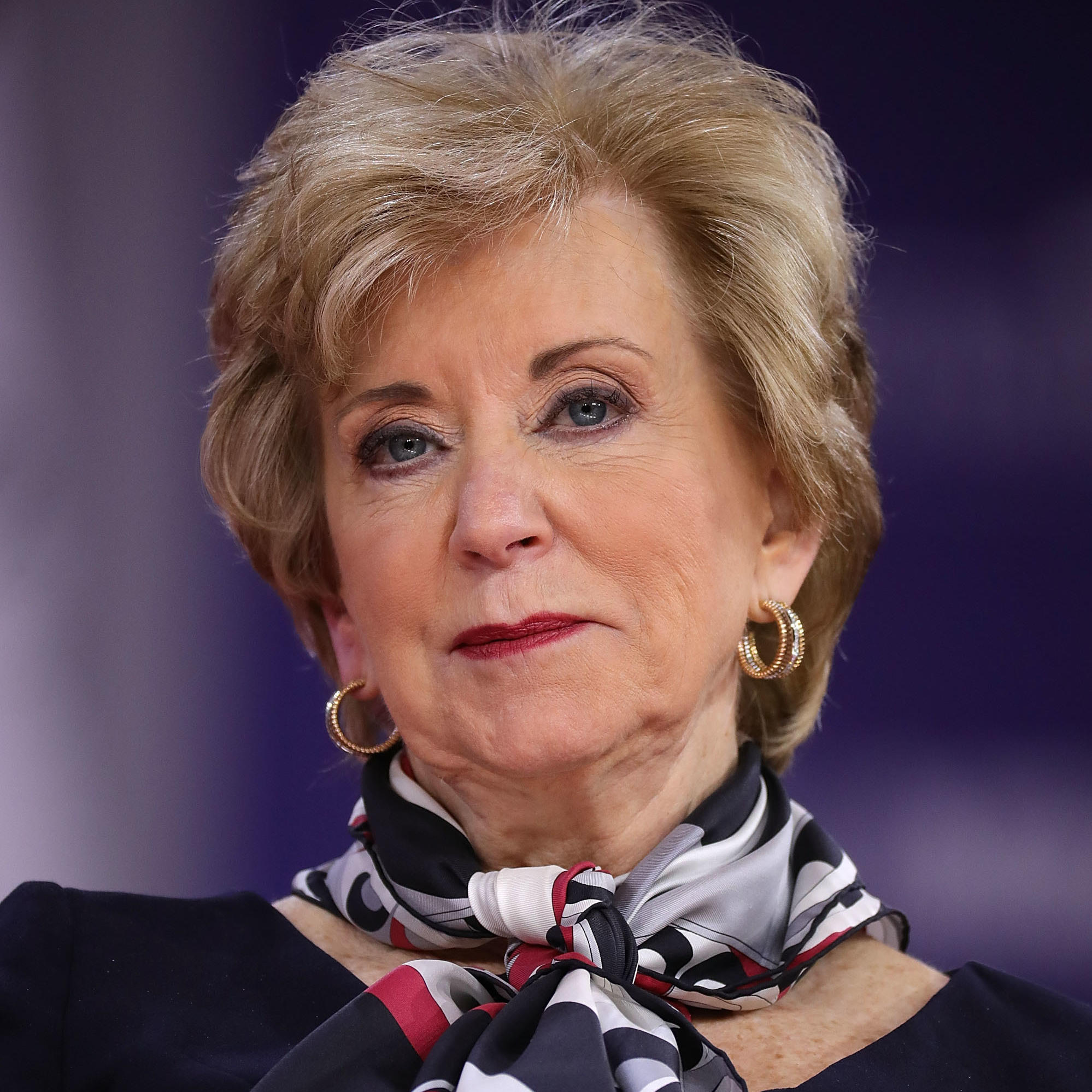 Linda McMahon is leaving Donald Trump's administration