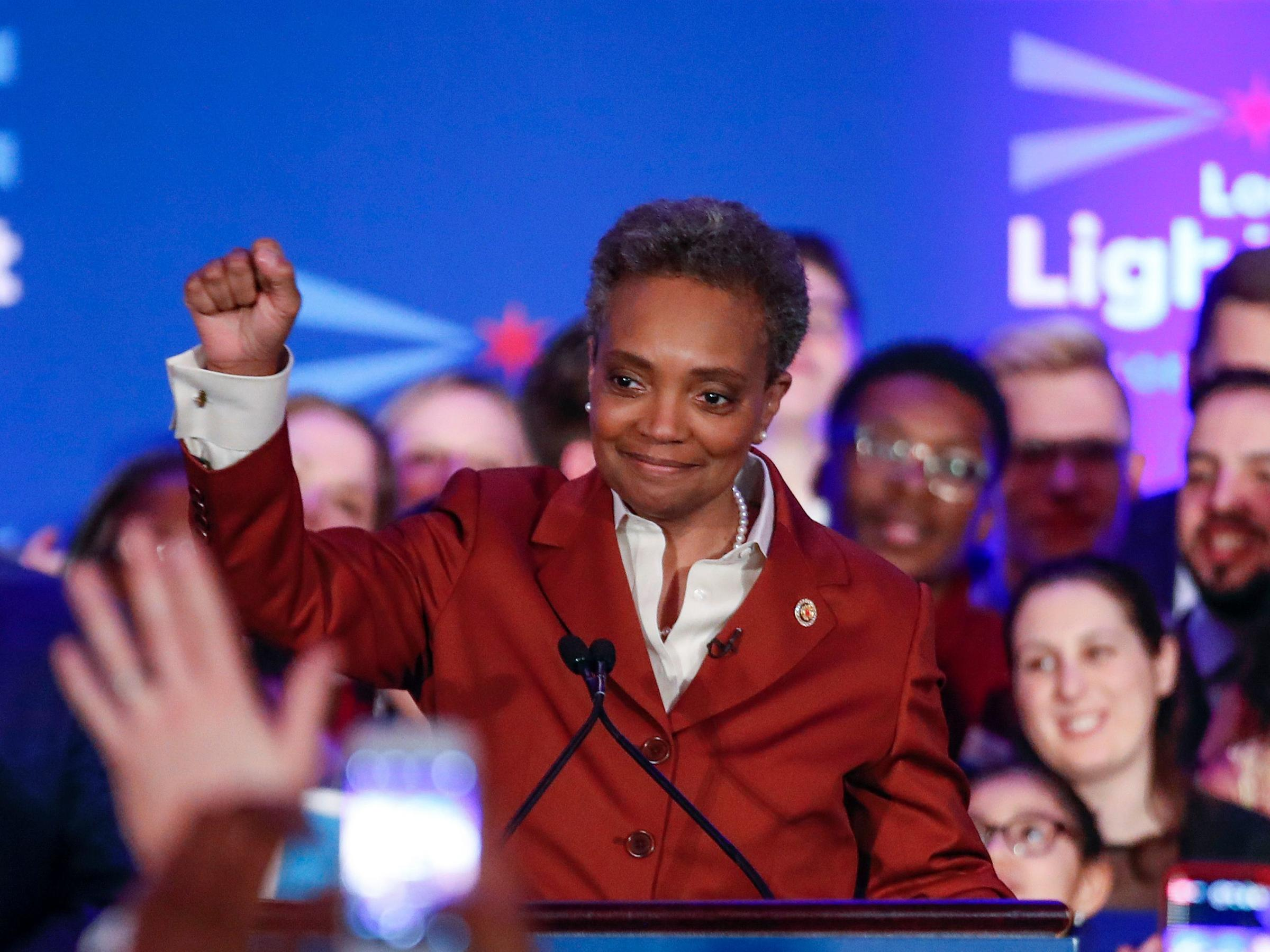Political outsider Lori Lightfoot wins mayoral race in Chicago