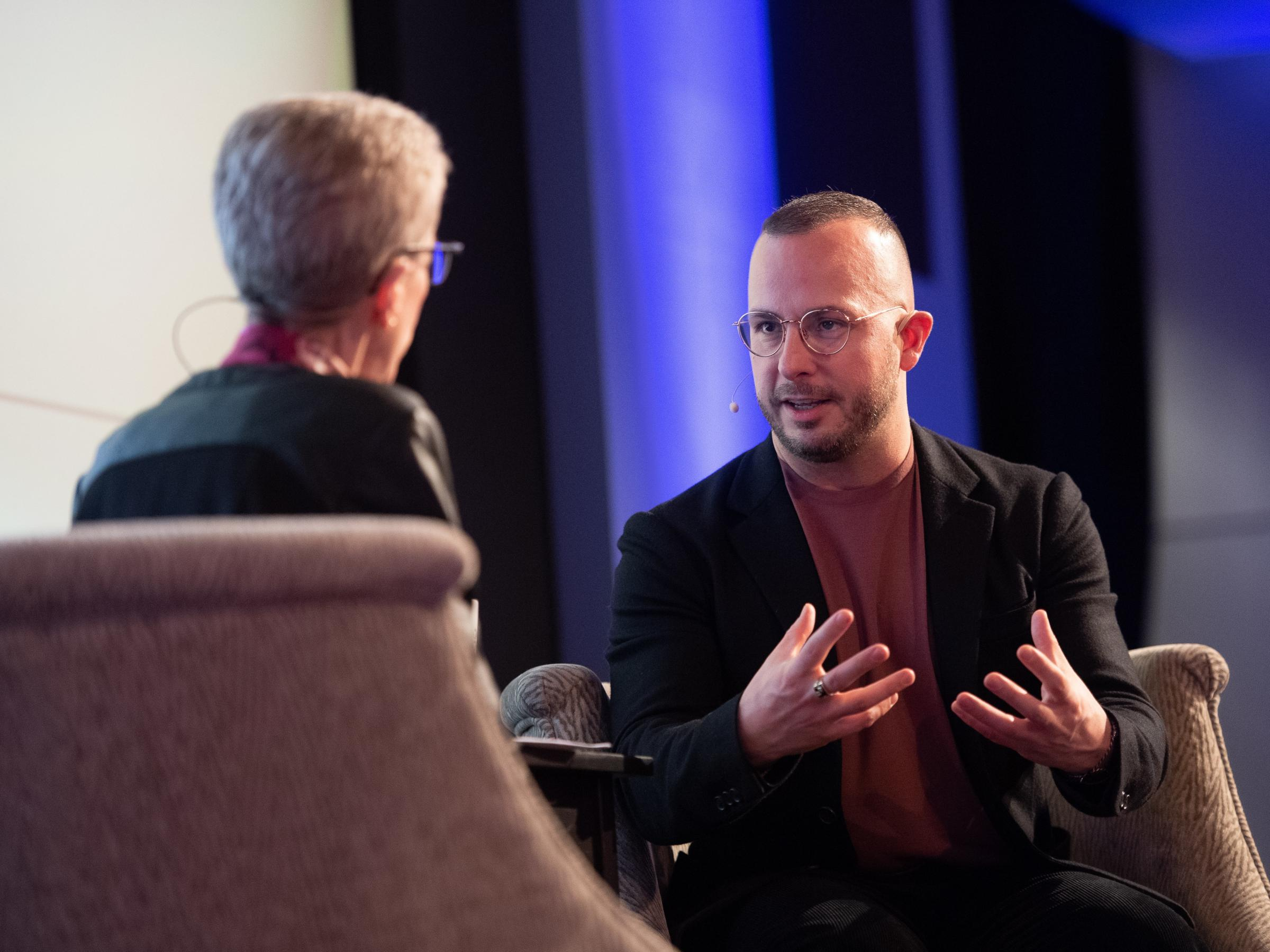 Fresh Airs Terry Gross Interviewed Conductor Yannick Nzet Sguin Before A Live Audience At WHYY On April 2 2019