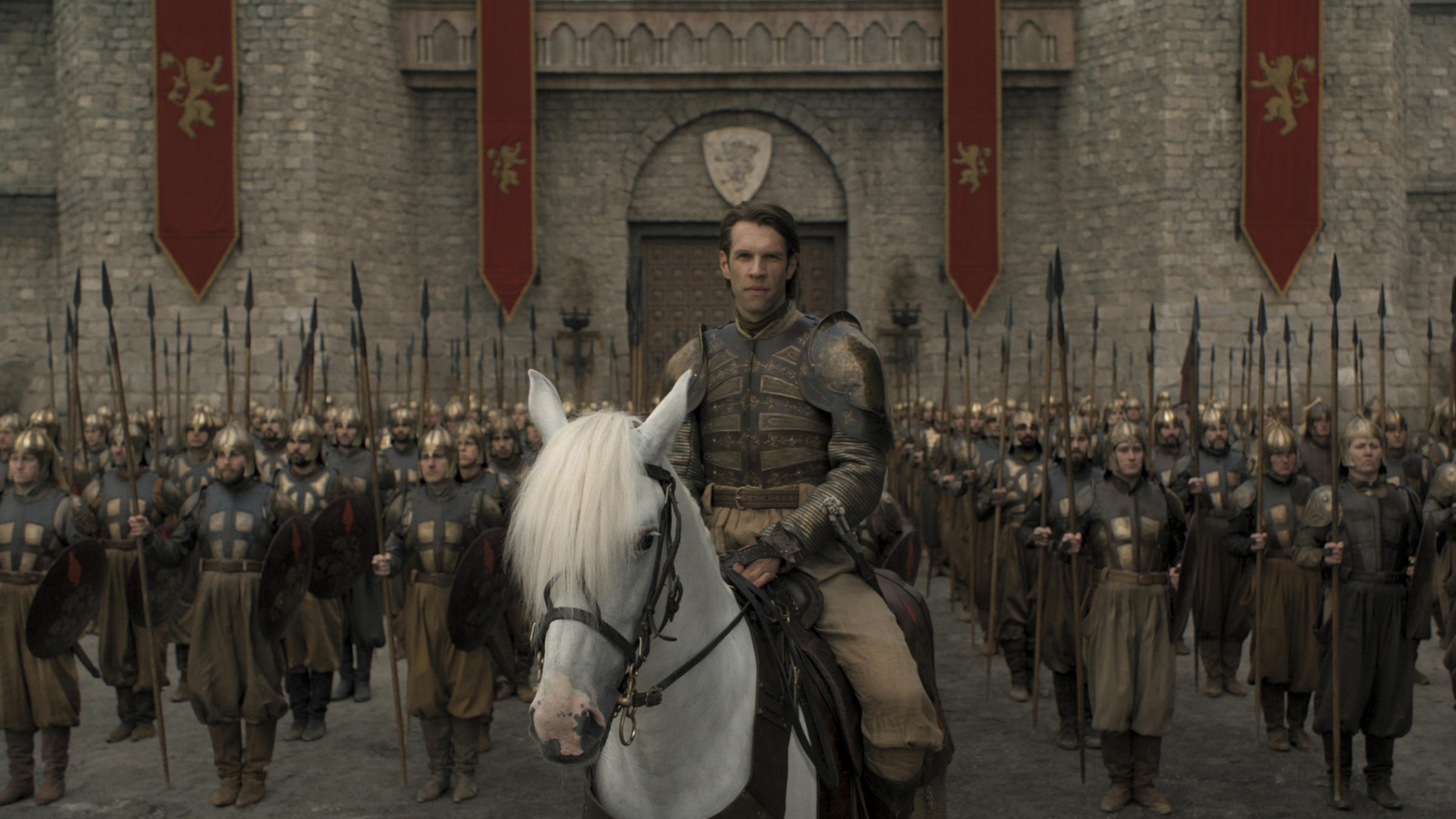 Strickland marc rissmann seriously thats his name harry strickland leads an army of mercenaries in the penultimate episode of game of thrones