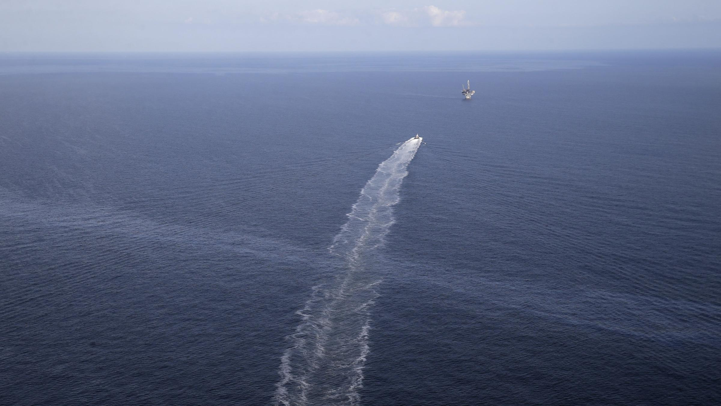 Oil Spill Seeping Into Gulf Of Mexico Contained After 14 Years, Coast Guard Says