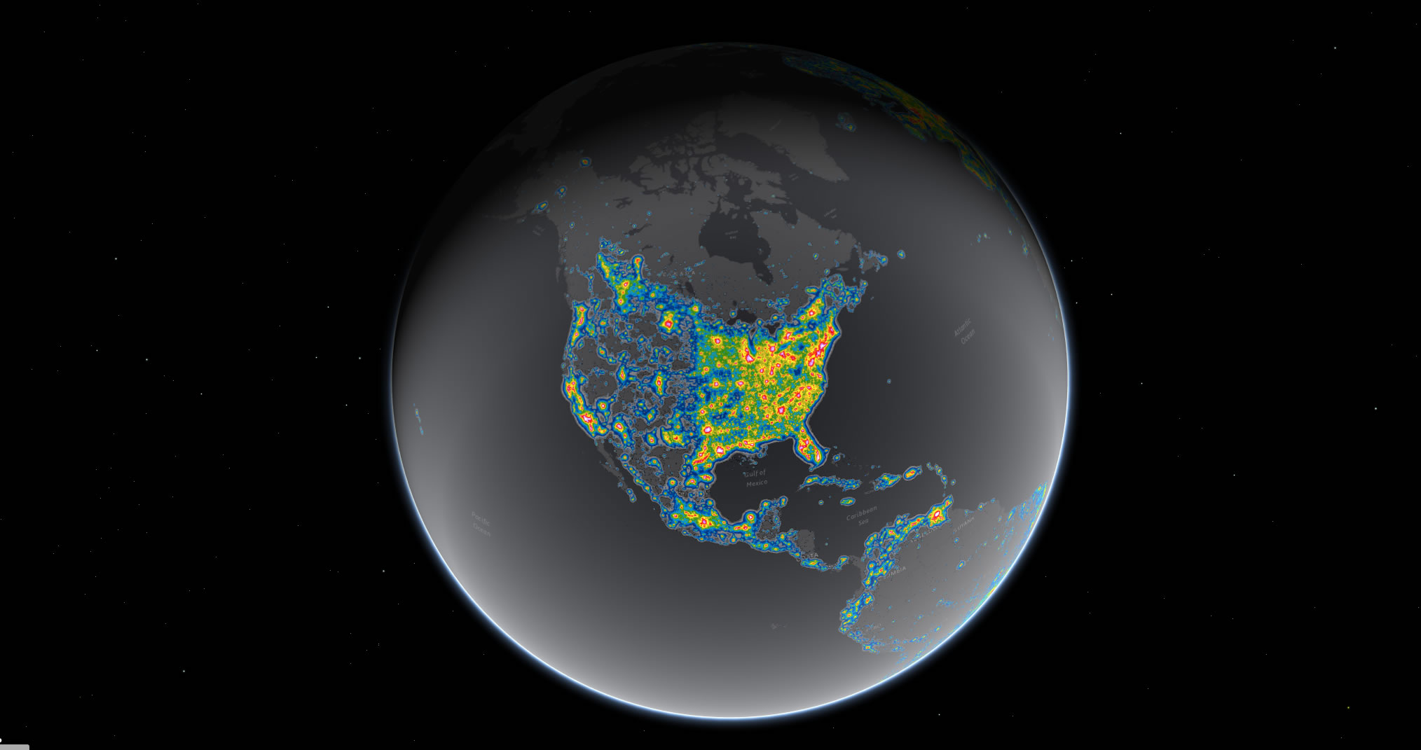 Northwest Wyoming Has Some Of The Darkest Skies In Lower 48 Wjct News - Darkest-places-in-the-us-map