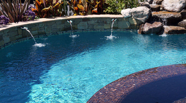 It can take 20,000 to 30,000 gallons of water to fill a new pool. Some California cities have banned using potable water for that use.