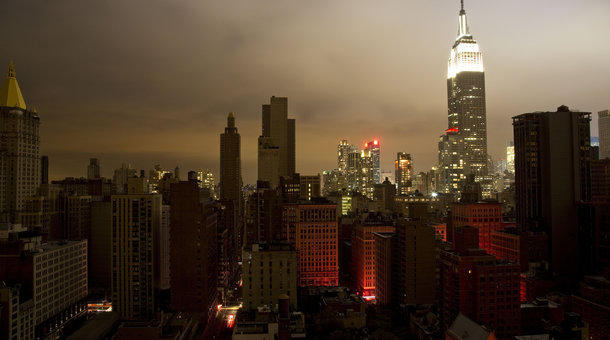 Hurricane Sandy knocked out power for millions in New York.