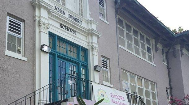 Encore Academy, an elementary and middle school with an arts focus in its charter, has been operating out of the old John Dilbert School building and will be moving to a new campus in the coming year.