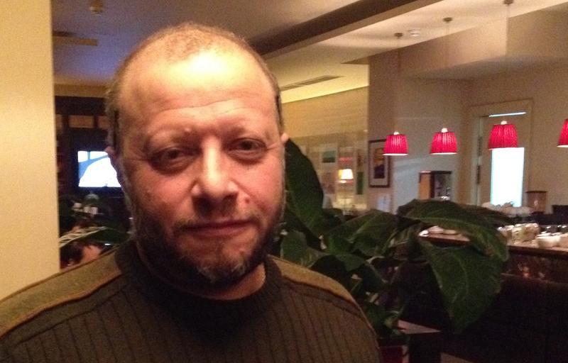 <p>Lyricist Alexander Yellin in Moscow.</p>