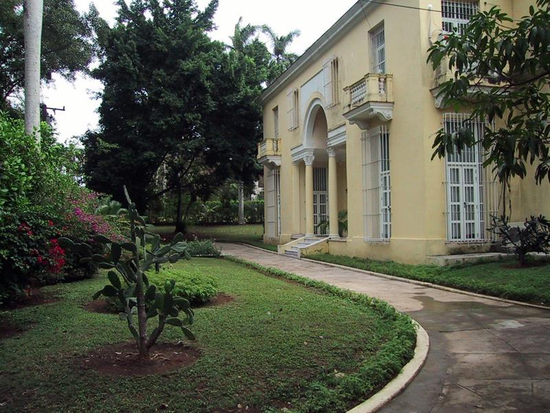 <p>This house once belonged to the Schechter family in Cuba</p>