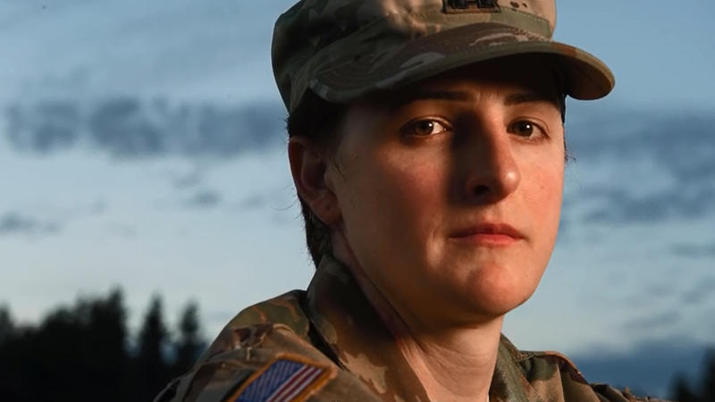 <p>Capt. Jennifer Peace realized she was transgender while serving in Afghanistan.</p>
