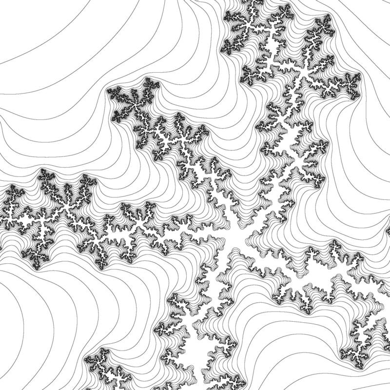 fractal coloring pages for kids - photo#20