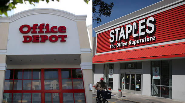 Staples and Office Depot fight FTC for merger | WBFO
