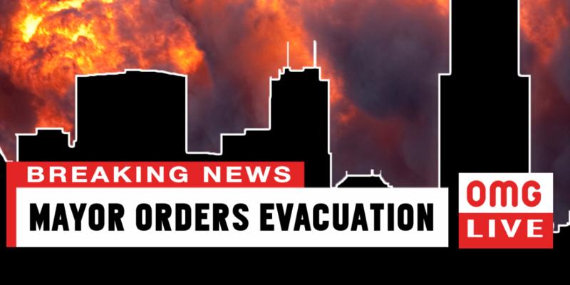 Mayor Orders Evacuation