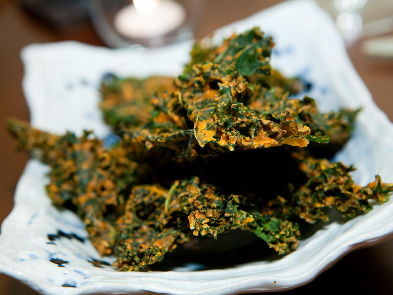 Mimi Sheraton is no fan of kale chips, shown here at Elizabeth's Gone Raw on May 20, 2011 in Washington, D.C.