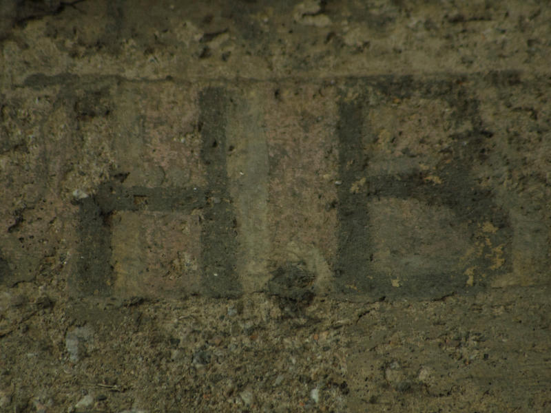 Early 20th century hobo graffiti discovered by anthropologist Susan Phillips.