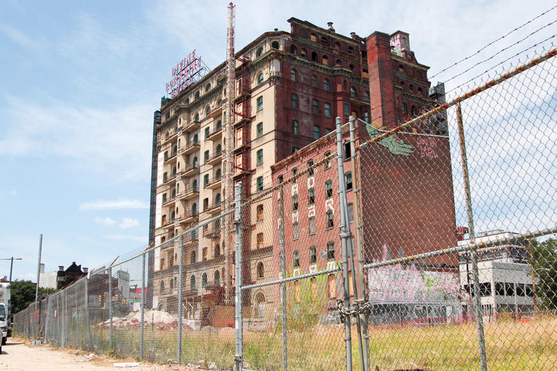 After Years Of Decay, Philadelphia's First Racially Integrated Hotel Rebuilds