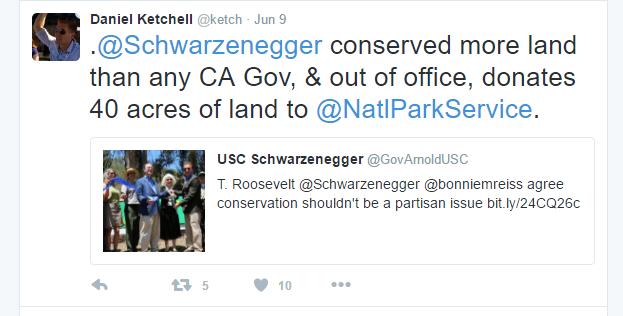 Arnold Publicist Tweet