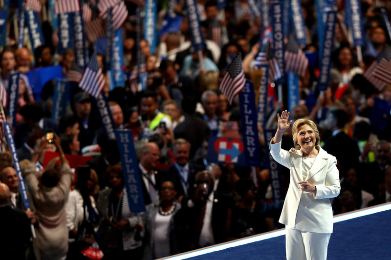 Assessing Hillary Clinton's Big Speech, And Her Moment In History