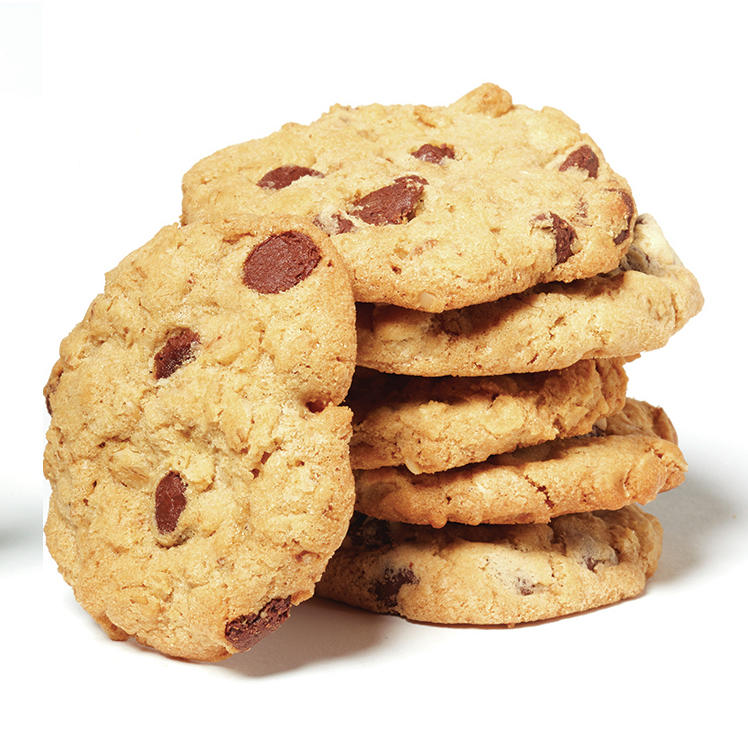 left) and the Clinton family recipe for oatmeal chocolate chip cookies ...