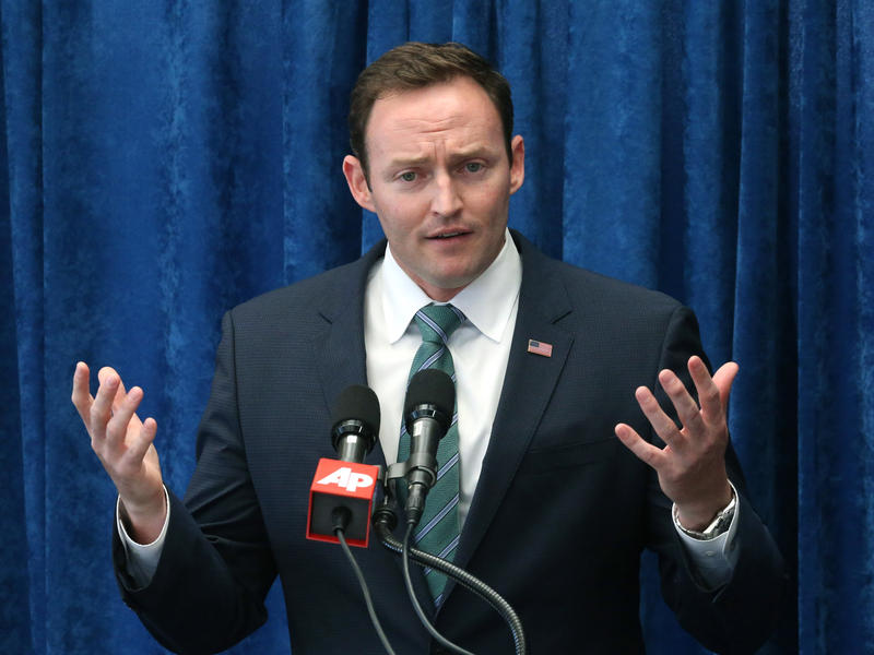 Rep. Patrick Murphy, D-Fla., will face incumbent Sen. Marco Rubio for the Florida Senate seat.