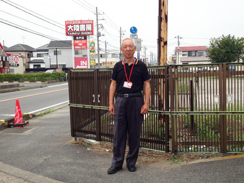 Hiroyuko Yamamoto, a crossing guard in Matsudo, Japan, has been trained in how to recognize and gently approach people who are wandering, or have other signs of dementia, in ways that won't frighten them.