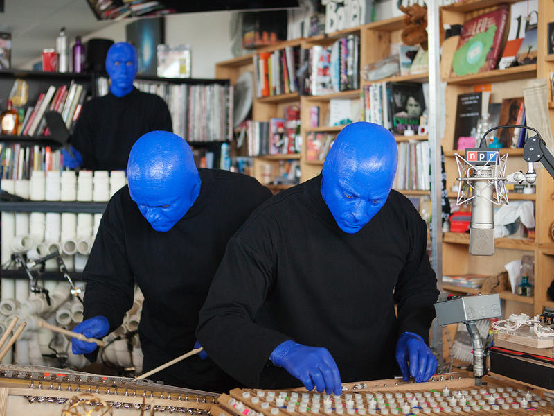 Tiny Desk Concert with Blue Man Group.