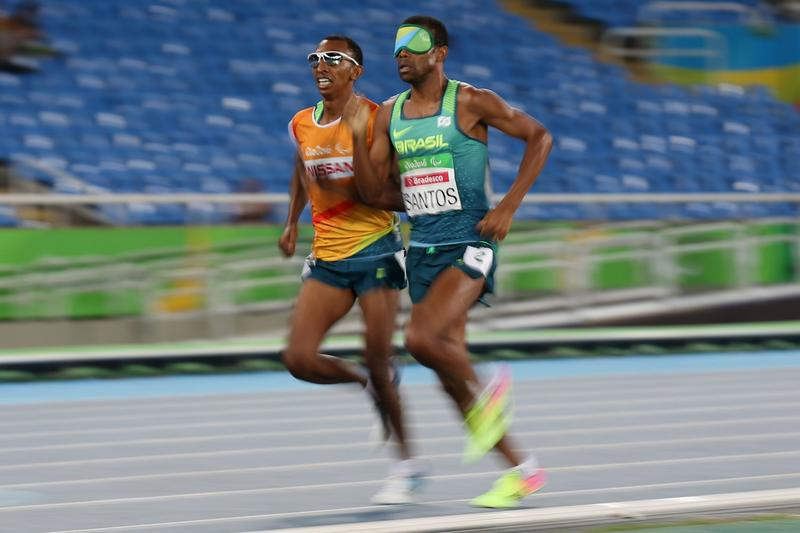 Paralympic Runners Beat Olympic Winner's Time In 1,500-Meter Race