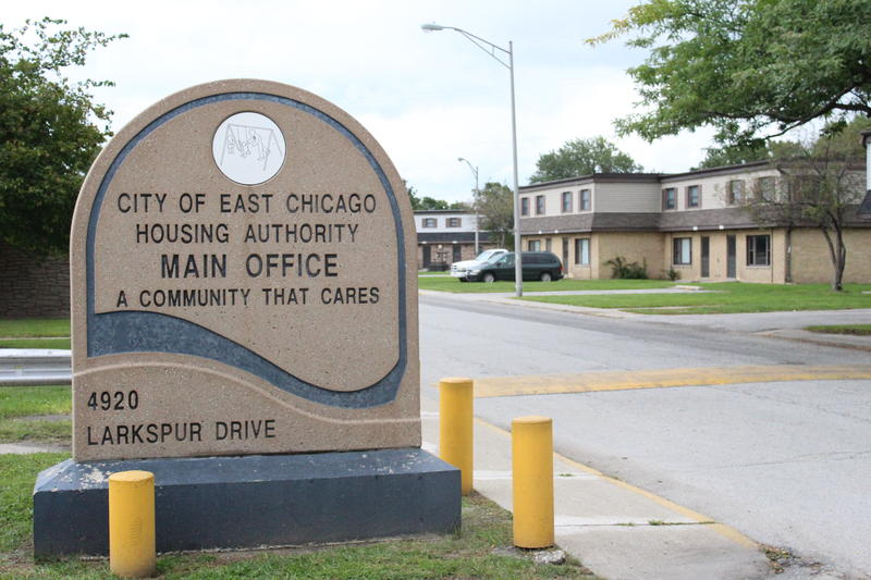 The East Chicago Housing Authority's main office is inside West Calumet Housing complex. Workers there referred comment to the city's attorney.