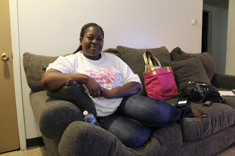 Keesha Daniels hasn't found a new apartment yet, but she's already taken the decorations off the walls of her West Calumet home.