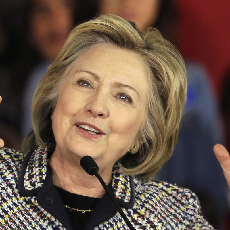 Democratic presidential candidate Hillary Rodham Clinton speaks at a campaign event in Dallas on Nov. 17, 2015.
