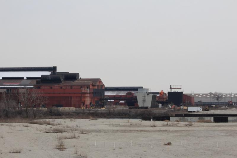 Steel mills like ArcelorMittal Indiana Harbor in Northwest Indiana could be affected by even the threat of a trade war. (Annie Ropeik/IPB News)