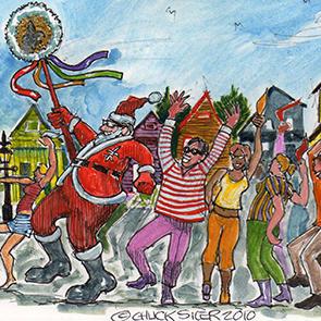 Santa's Second Line