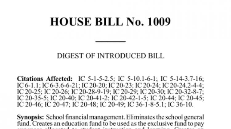 House Bill 1009