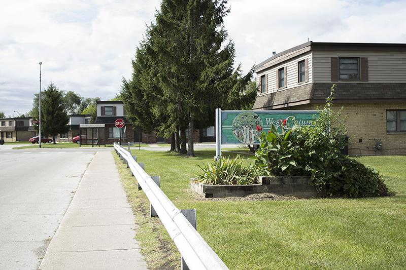 Some 1,000 residents of the West Calumet housing complex will have to relocate. (Lauren Chapman/IPB News)