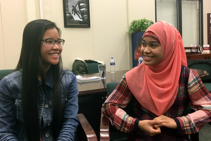 Hser Muh Htah and Na Da Laing are two Burmese refugees who attend East Allen University, a college prep public high school in Ft. Wayne. The school is located in a neighborhood where many refugee students live, meaning the school is changing its tactics t