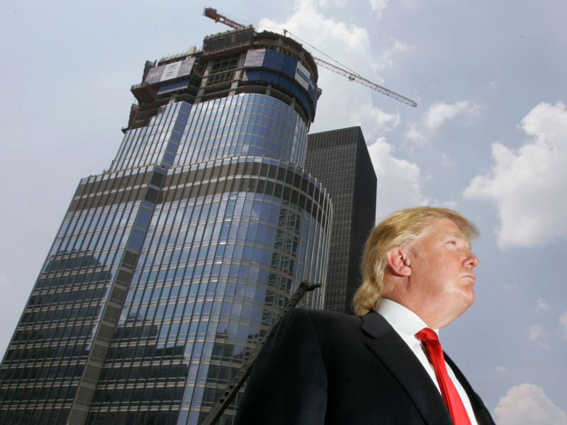 Donald Trump at Trump Tower
