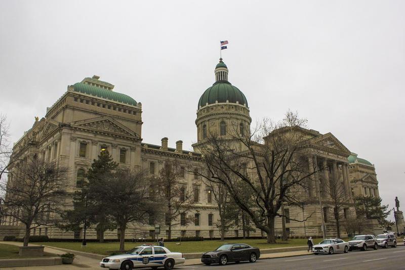 Indiana Statehouse (Peter Balonon-Rosen/IPB News)