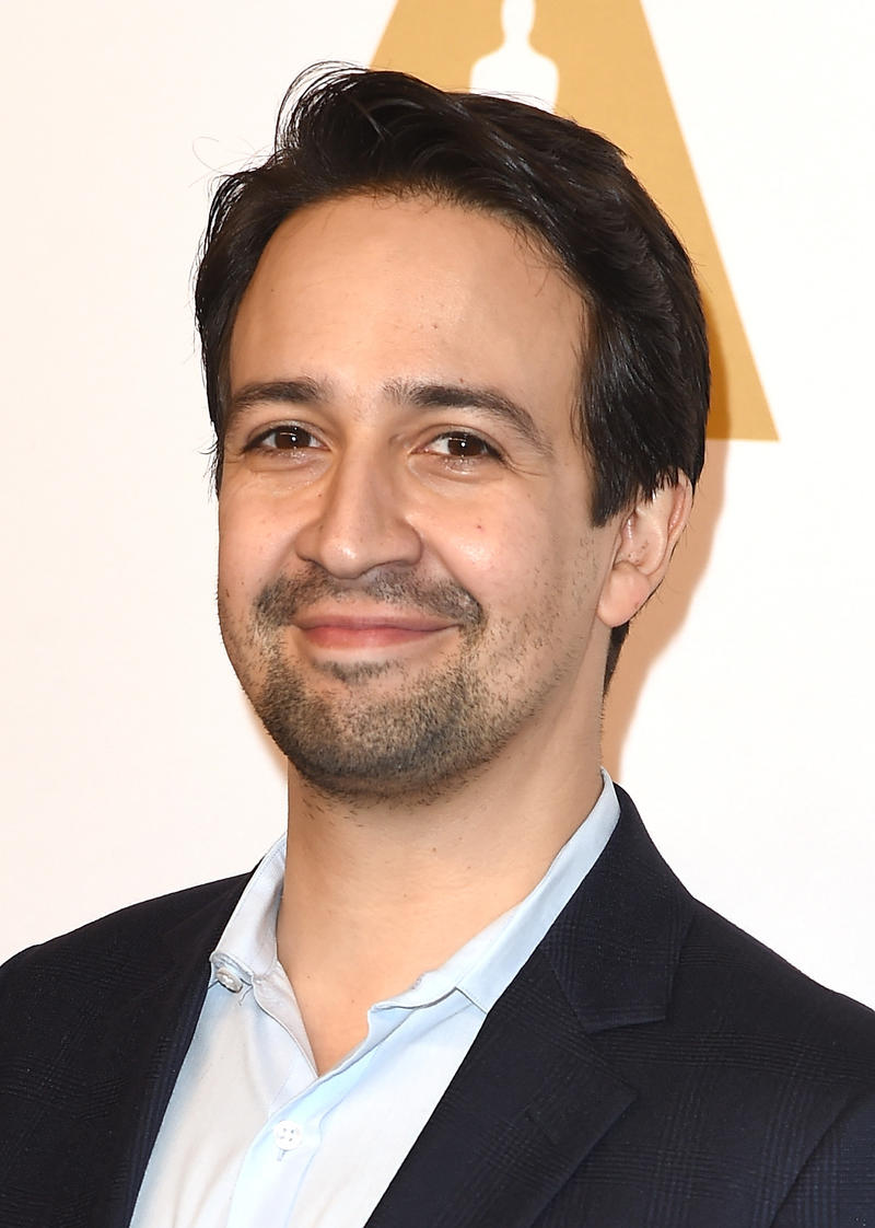 BEVERLY HILLS, CA - FEBRUARY 06:  Composer Lin-Manuel Miranda attends the 89th Annual Academy Awards Nominee Luncheon at The Beverly Hilton Hotel on February 6, 2017 in Beverly Hills, California.  (Photo by Kevin Winter/Getty Images)
