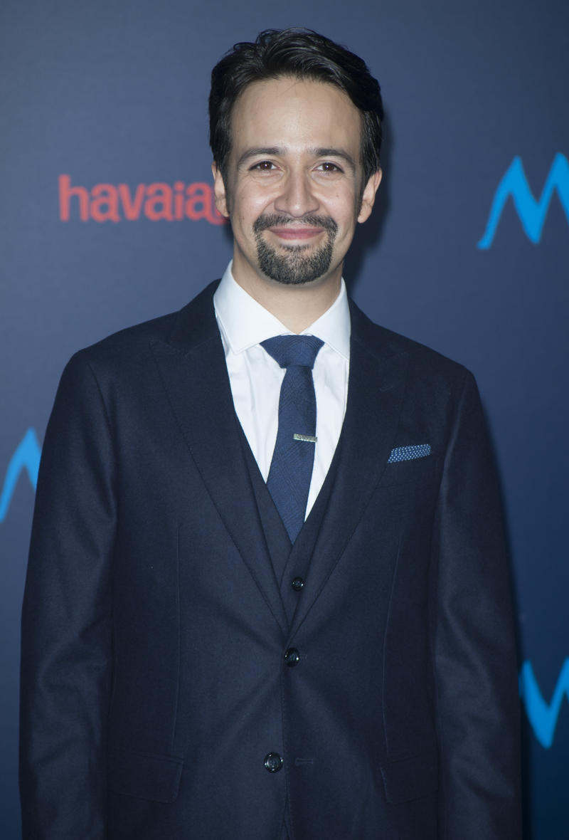 "Lin-Manuel Miranda attends the Disney Premiere ""Moana"" in Hollywood, California, on November 14, 2016. / AFP / LILLY LAWRENCE        (Photo credit should read LILLY LAWRENCE/AFP/Getty Images)"