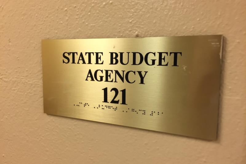The State Budget Agency offices at the Statehouse. (Brandon Smith/IPB News)