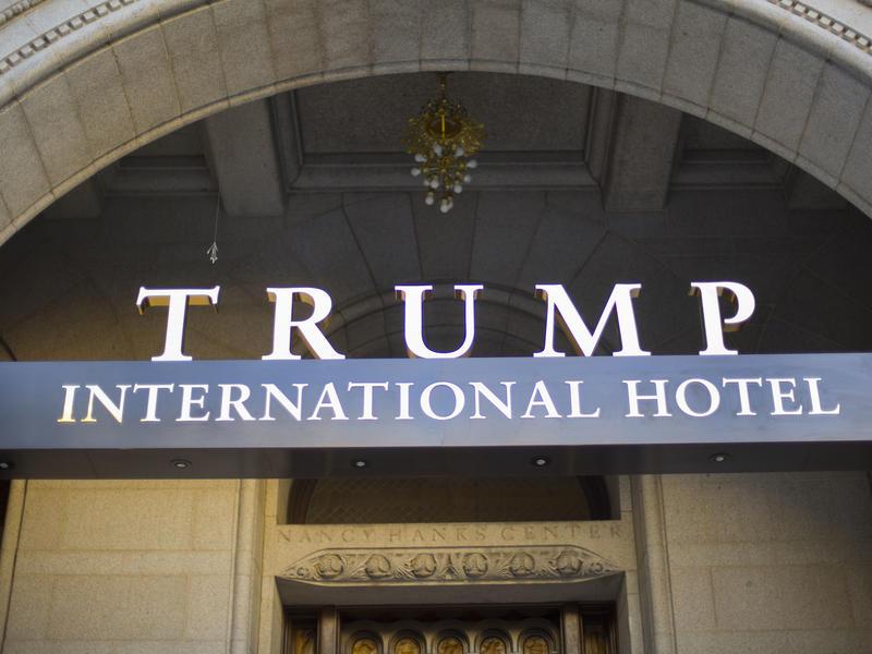 Kuwait is holding its National Day celebration at the Trump International Hotel in Washington.