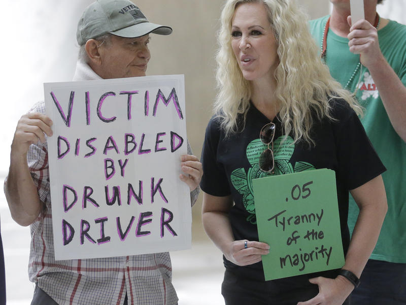 Gov. Gary Herbert resisted recent calls to veto a bill giving Utah the strictest DUI threshold in the country, lowering the blood alcohol limit to .05 percent, down from .08 percent. Last week, demonstrators on both sides of the issue visited the Utah Sta