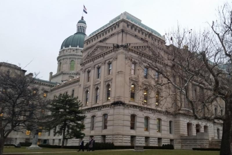The Indiana Statehouse (Lauren Chapman/IPB News)