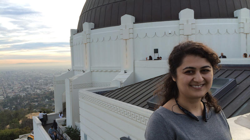 <p>When Sona Hosseini went on a class trip to the planetarium, she fell in love with the stars.</p>