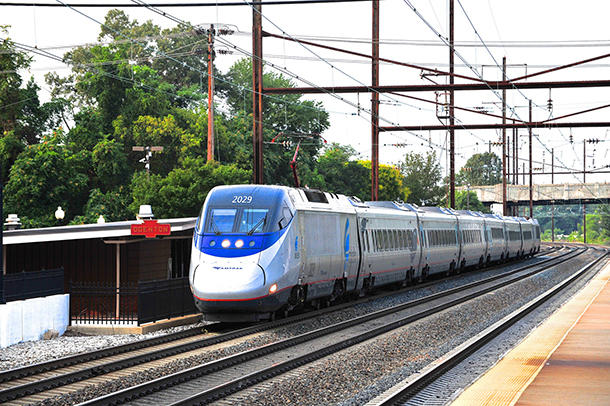 <p>Former Massachusetts Governor Michael Dukakis successfully advocatedfor the high-speed Acela train, which began running from Boston to Washingtonin 2000. He wantsthe US to embracea nationwide expansion of world-class public transit systems.</p>