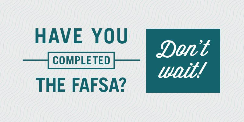 FAFSA reminder from the U.S. Department of Education. (Source: Department of Education)
