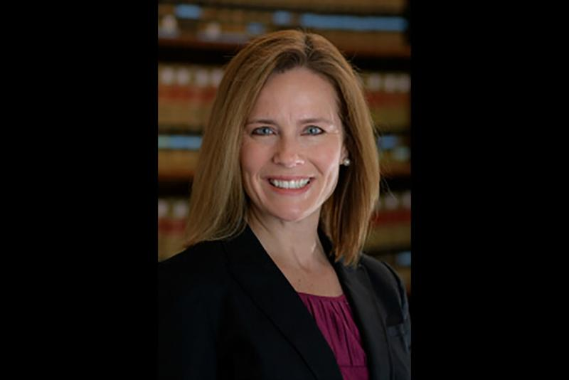 Amy Coney Barrett (Provided by the University of Notre Dame)